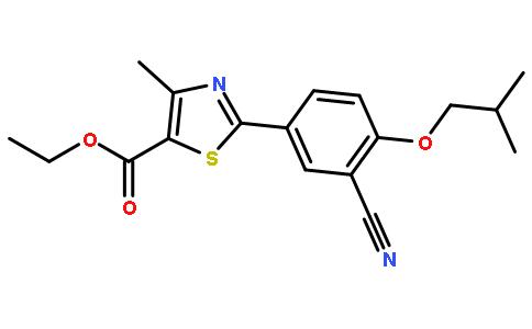 2-(3-氰基-4-异丁氧基苯基)-4-甲基噻唑-5-甲酸乙酯