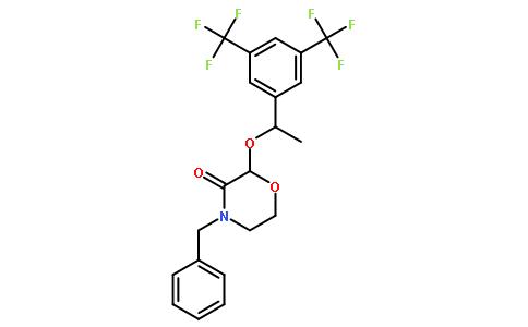 (2R)-4-苄基-2-[(1R)-1-[3,5-双(三氟甲基)苯基]乙氧基]吗啉-3-酮
