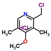 2-氯甲基-3,5-二甲基-4-甲氧基吡啶盐酸盐