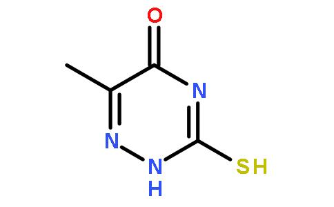 3,4-二氢-6-甲基-3-硫酮基-1,2,4-三嗪-5(2H)-酮