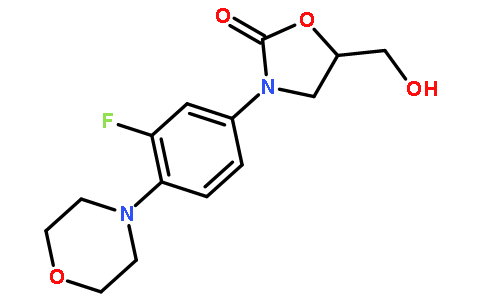 (5R)-3-[3-氟-4-(4-吗啡啉基)苯基]-5-羟甲基-2-恶唑烷酮