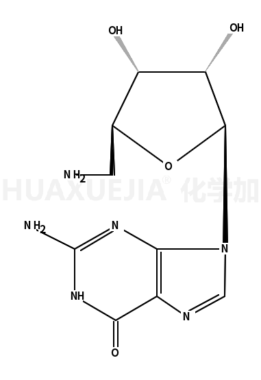 2-amino-9-[5-(aminomethyl)-3,4-dihydroxyoxolan-2-yl]-3H-purin-6-one