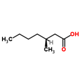 (S)-3-Methylheptanoic acid