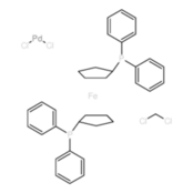 1,1'-双(二苯膦基)二茂铁二氯化钯(II)二氯甲烷复合物