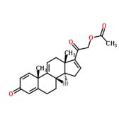 21-羟基孕甾-1,4,9(11),16-四烯-3,20-二酮-21-醋酸酯