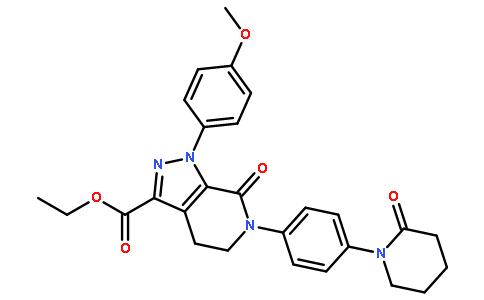 1-(4-Methoxyphenyl)-7-oxo-6-[4-(2-oxopiperidin-1-yl)phenyl]-4,5,6,7-tetrahydro-1H-pyrazolo[3,4-c]pyridine-3-carboxylic acid ethyl ester