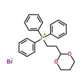 2-(1,3-二氧己环-2-基)乙基三苯基溴化膦