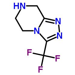 3-(三氟甲基)-5,6,7,8-四氢-[1,2,4]三唑并[4,3-a]吡嗪盐酸盐