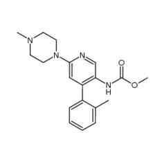 [6-(4-methyl-piperazin-1-yl)-4-o-tolylpyridin-3-yl]-carbamic acid methyl ester