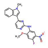 N-(4-氟-2-甲氧基-5-硝基苯基)-4-(1-甲基-1H-吲哚-3-基)-2-嘧啶胺
