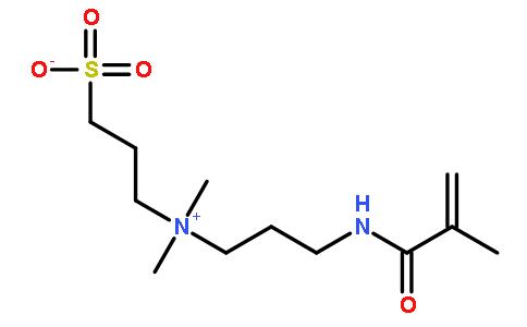 3-磺基丙基二甲基-3-甲基丙烯酰胺基丙基铵内盐