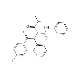 2-[2-(4-氟苯基)-2-氧代-1-苯基乙基]-4-甲基-3-氧代-N-苯基戊酰胺