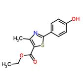 Ethyl 2-(4-hydroxyphenyl)-4-methylthiazole-5-carboxylate