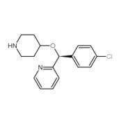 (S)-2-[(4-氯苯基)(4-哌啶氧基)甲基]吡啶