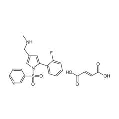 5-(2-氟苯基)-N-甲基-1-(3-吡啶基磺酰基)-1H-吡咯-3-甲胺富马酸盐